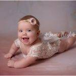 Four Month Old Milestone Session – Abigail