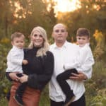 Fall Family Session – Brittany and Josh